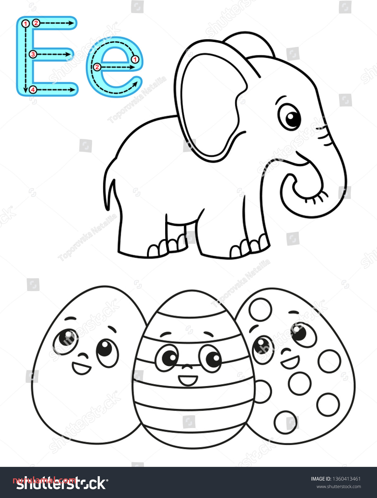 Free Easter Math Worksheet