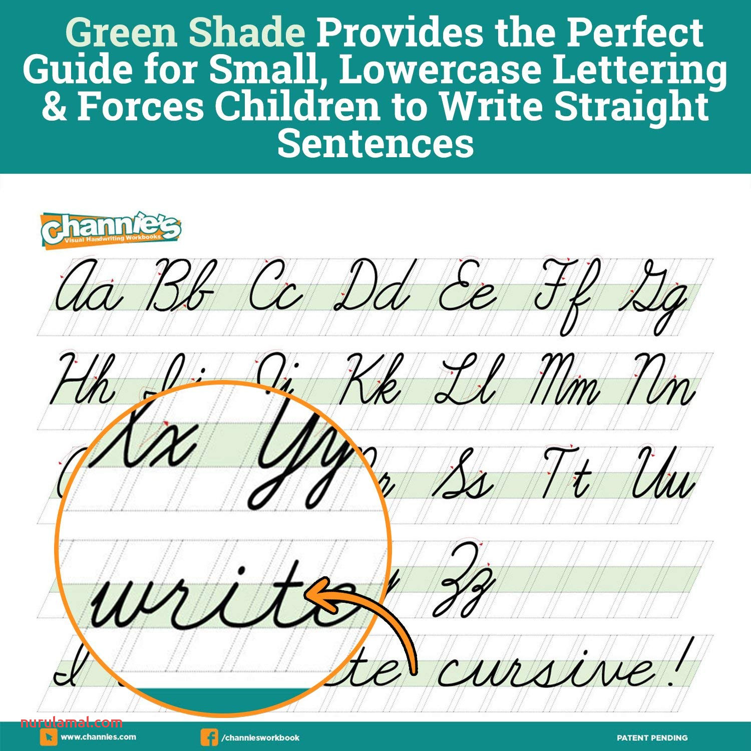 Cursive Kindergarten Handwriting Worksheets