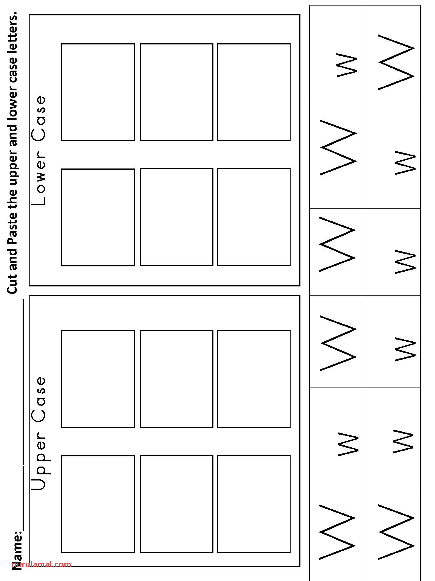 Kindergarten Alphabet Worksheets Practice