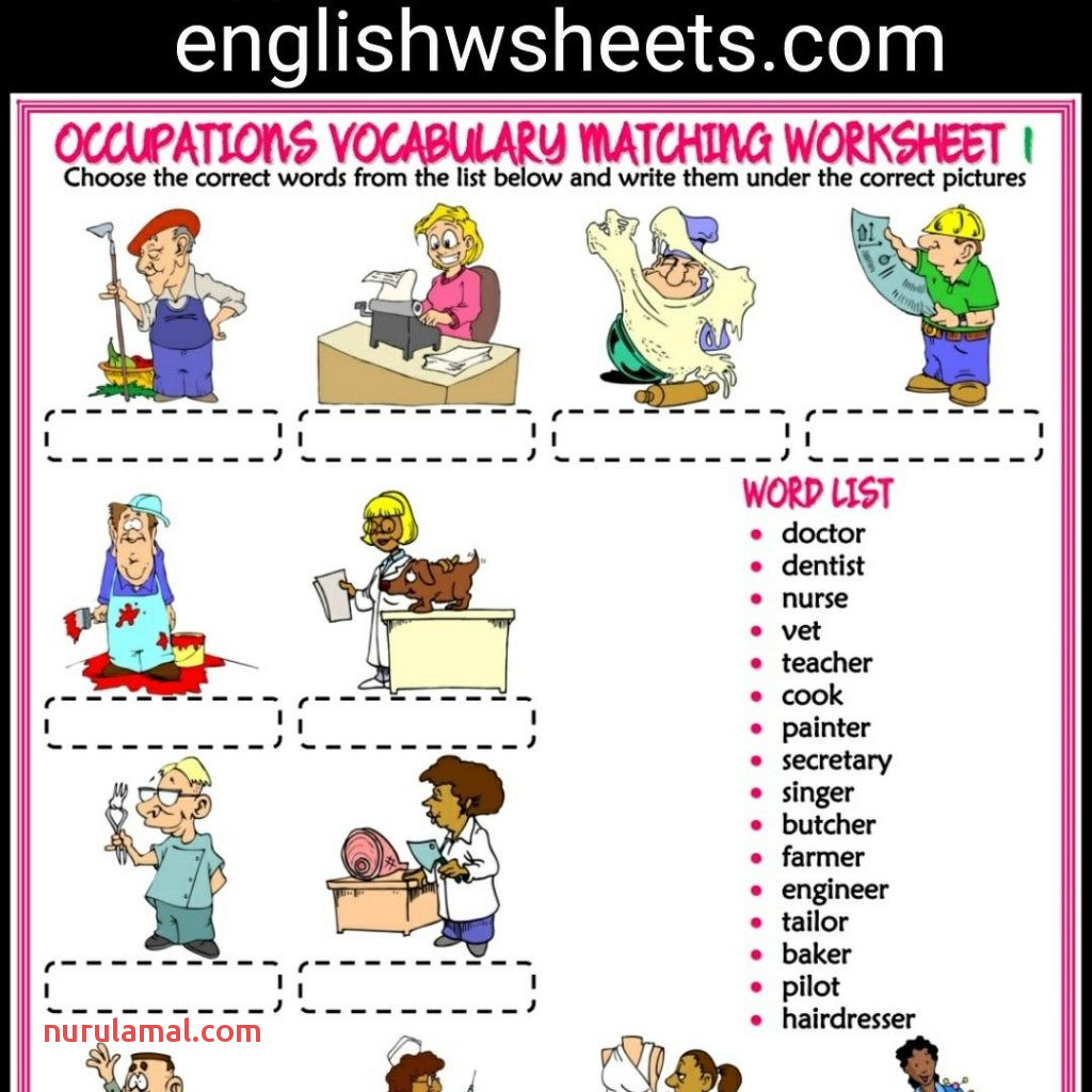 Esl Worksheets For Kids Animal