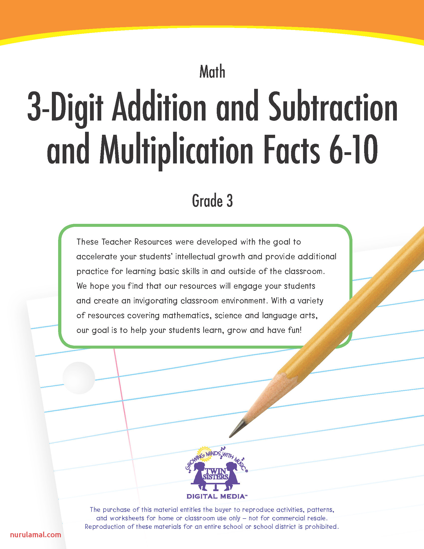 Math Worksheets Triple Digit Addition And Subtraction