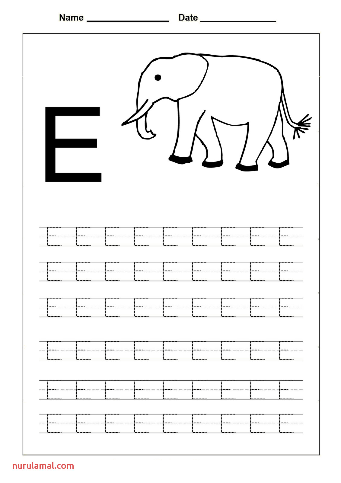 Preschool Letter F Tracing Worksheets