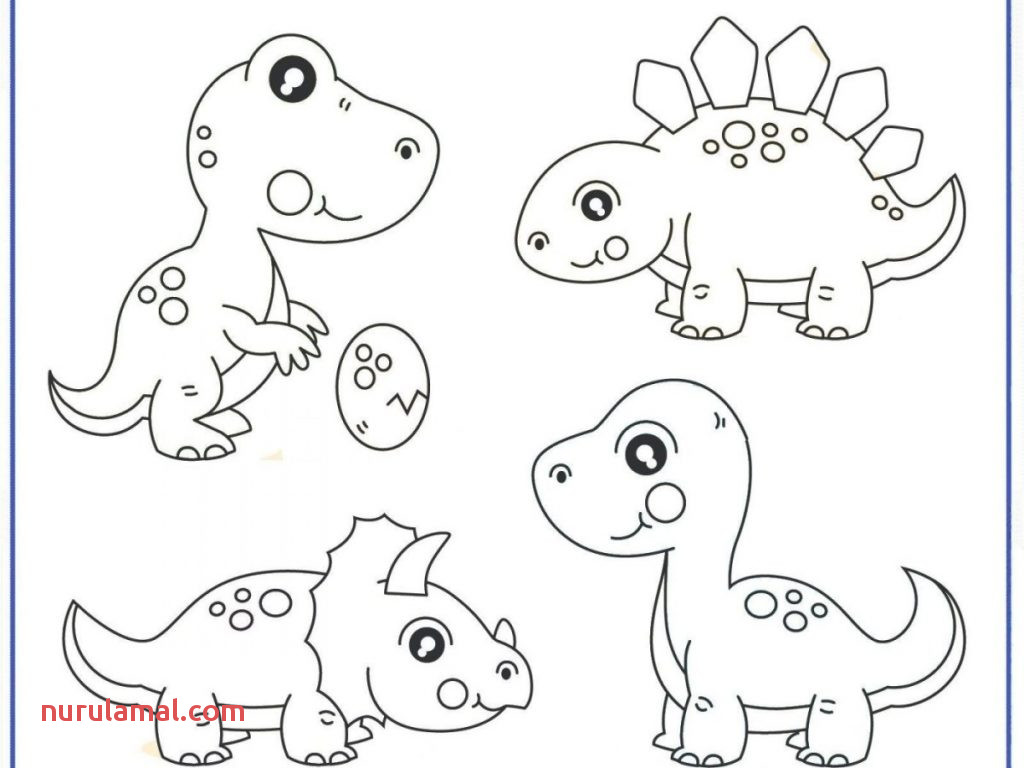 Printable Dinosaur Worksheet Printout
