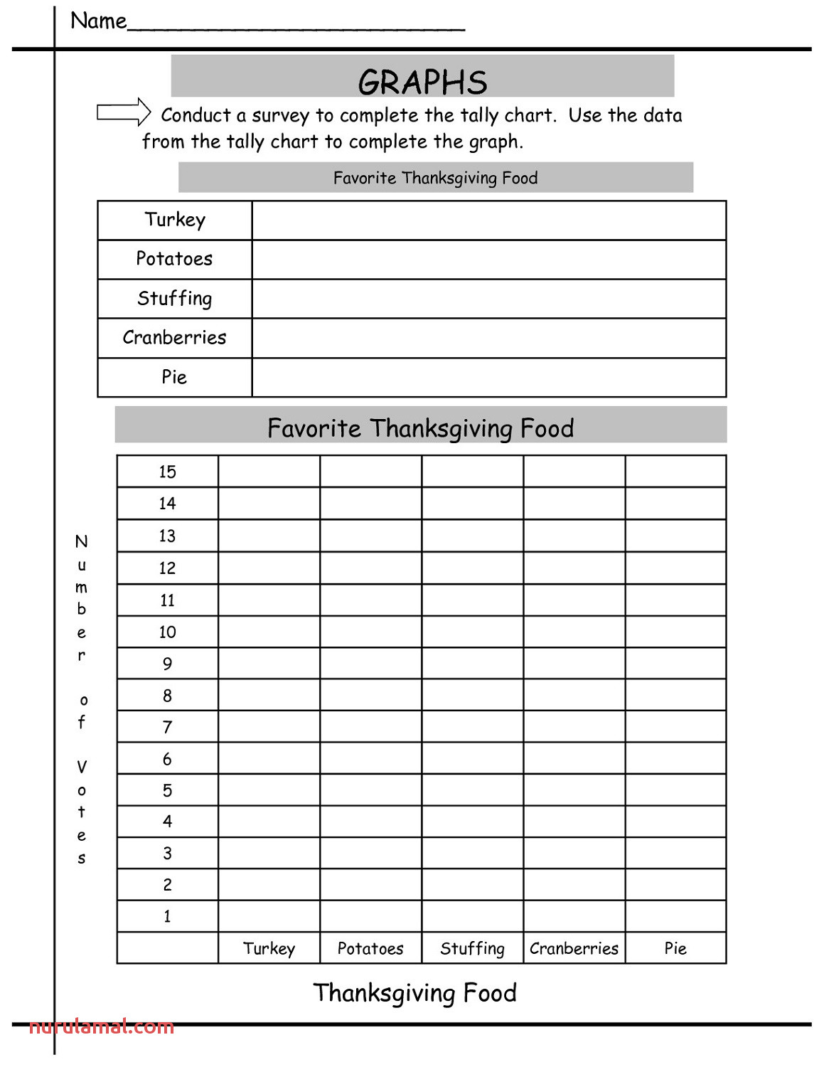 Tally Chart Worksheets For First Grade 001