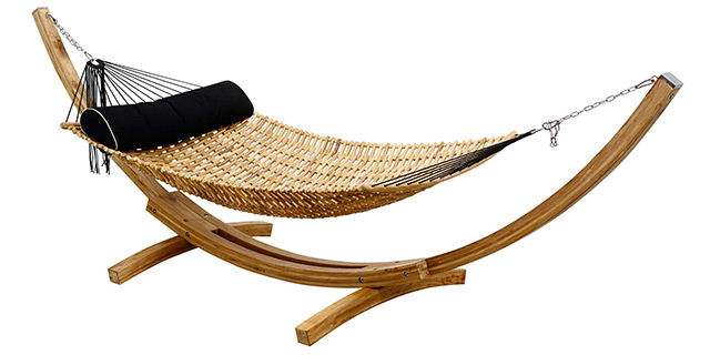 hammock chair stand calgary office yoga video nusantara teak dreamweaver