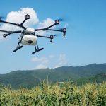 Penyemprotan dengan drone