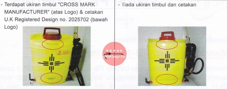 Sprayer PB16-tangki asli malaysia