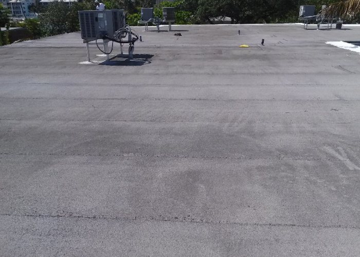 Florida Roof Coating - Before