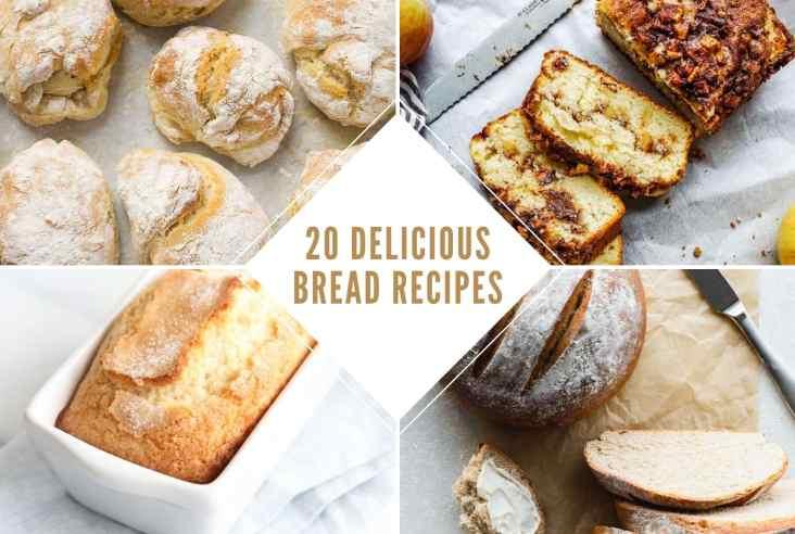 20 bread recipe round up