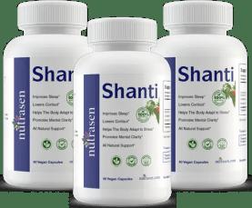 Shanti 3 Bottles