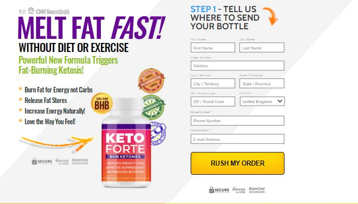 Keto forte uk price