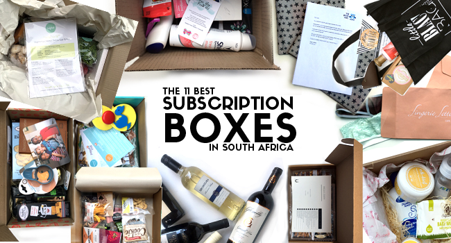 The Best Subscription Box Services in South Africa
