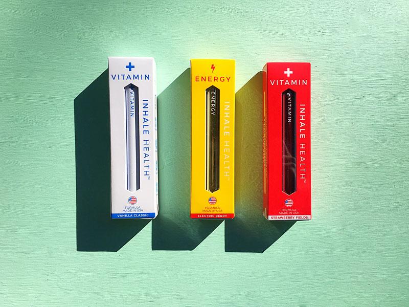 Inhale Health ™ Inhaleable Vitamins