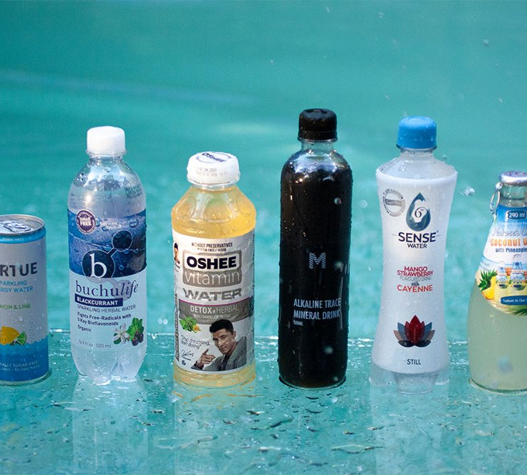 Taste Test Infused Waters Supercharged to boost health