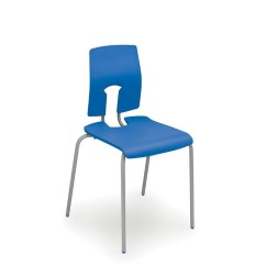 Posture Promoting Chair White Bistro Hire Easy Grab Classic