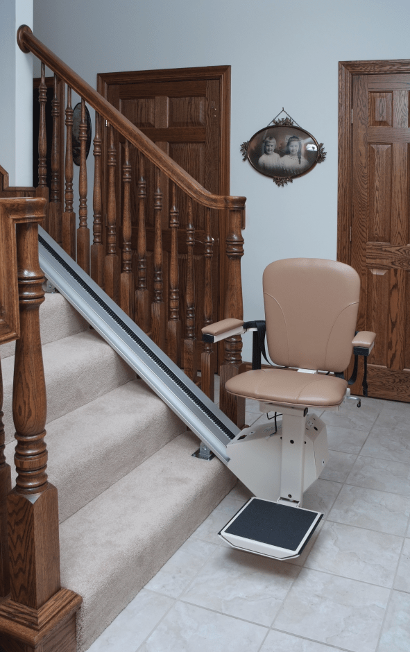 chair cover rentals quad cities bag high stair lifts in moline il the nu trend