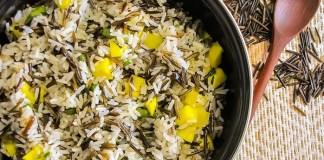 arroz-selvagem-com-espargos-e-manga