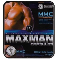 MAXMAN IV Potencia Sexual