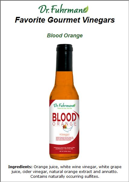 blood orange vinger