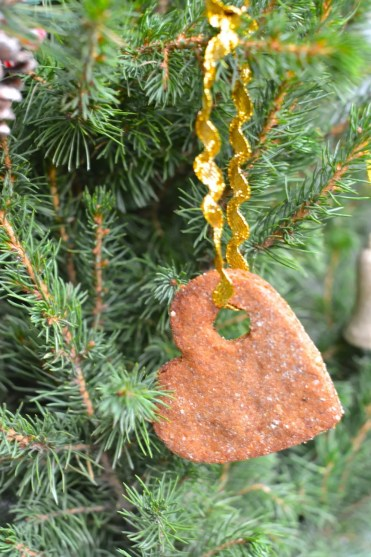 Whole Food Plant-Based Gingerbread Christmas Tree Adornment