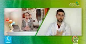 """Registrazione del mio intervento su Canale 21 il 24/03/2020, in occasione della trasmissione """"Quando c'è la salute""""."""
