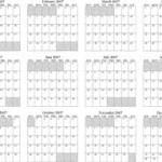 calendar annual