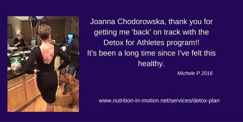 detox plan testimonial michele