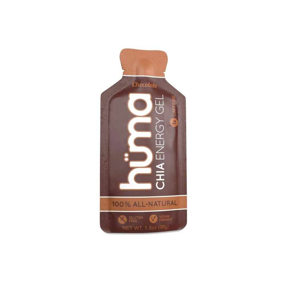 Hüma - Chia Energy Gel Chocolate 1x Caffeine