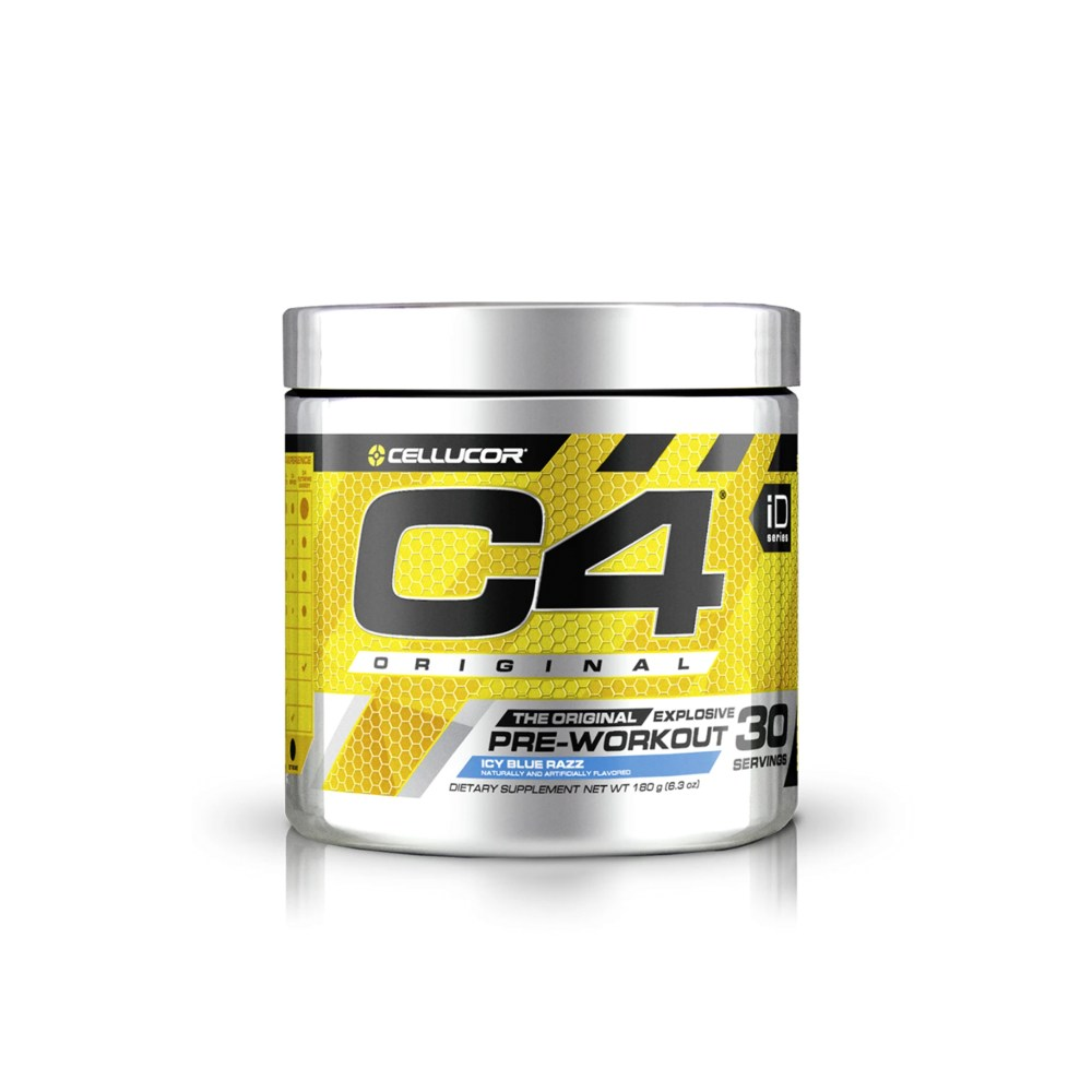 Cellucor - C4 Original Pre-Workout ICY BLUE RAZZ 30 Servings - Nutrition Depot Philippines