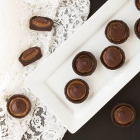Cocoa Almond Butter Cups (Plant-based, Gluten-free, Oil-free)