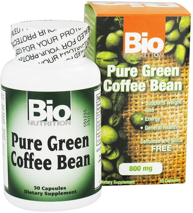 Bio Nutrition Pure Green Coffee Bean 50 Capsules