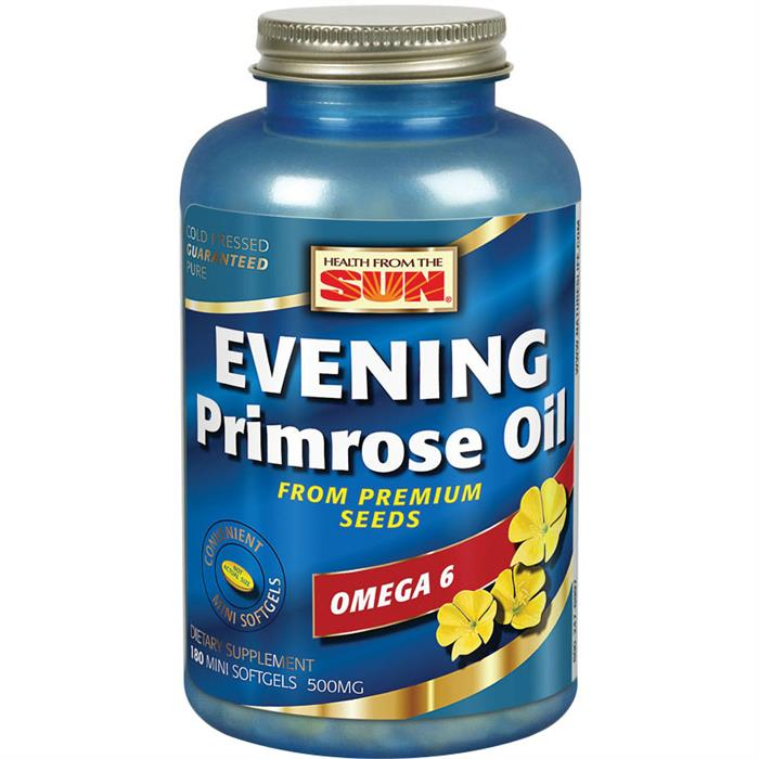 Health From The Sun Evening Primrose Oil - 180 Softgels