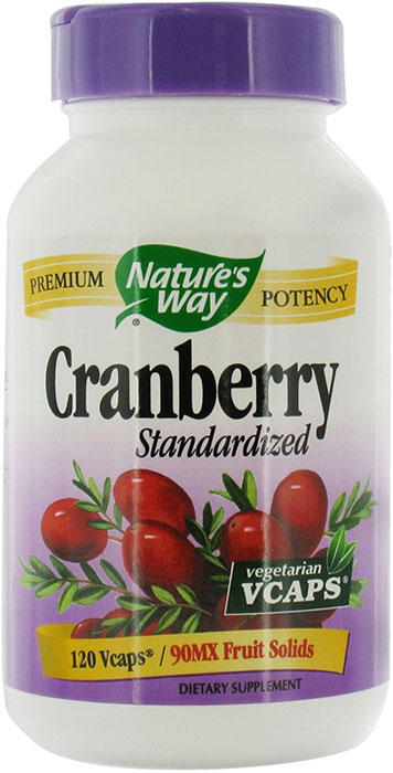 Nature's Way Cranberry Standardized Extract 120 Capsules