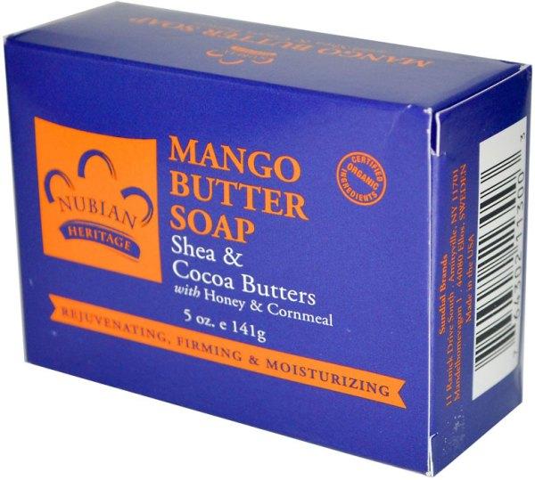Nubian Heritage Mango Butter Soap Shea Cocoa Butters