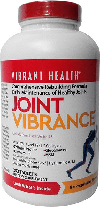 Vibrant Health Joint Vibrance Version 4.3 - 252 Tablets ...