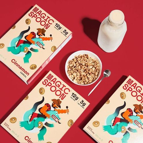 magicspoon new line of healthy cereal