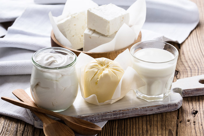 lactose foods
