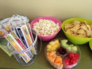 Gluten free pool party snacks