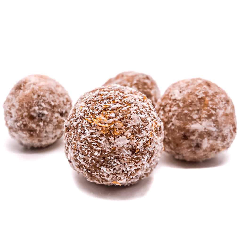 Zitronen Nutrys Energy Balls