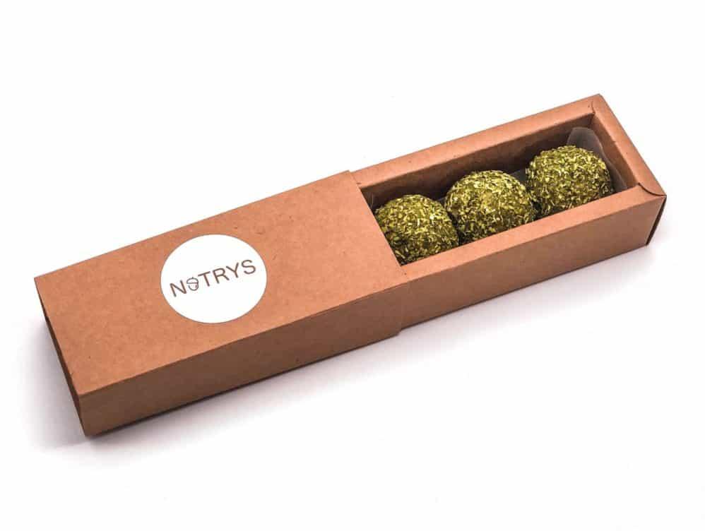 3er Nutrys - Matcha Energy Balls