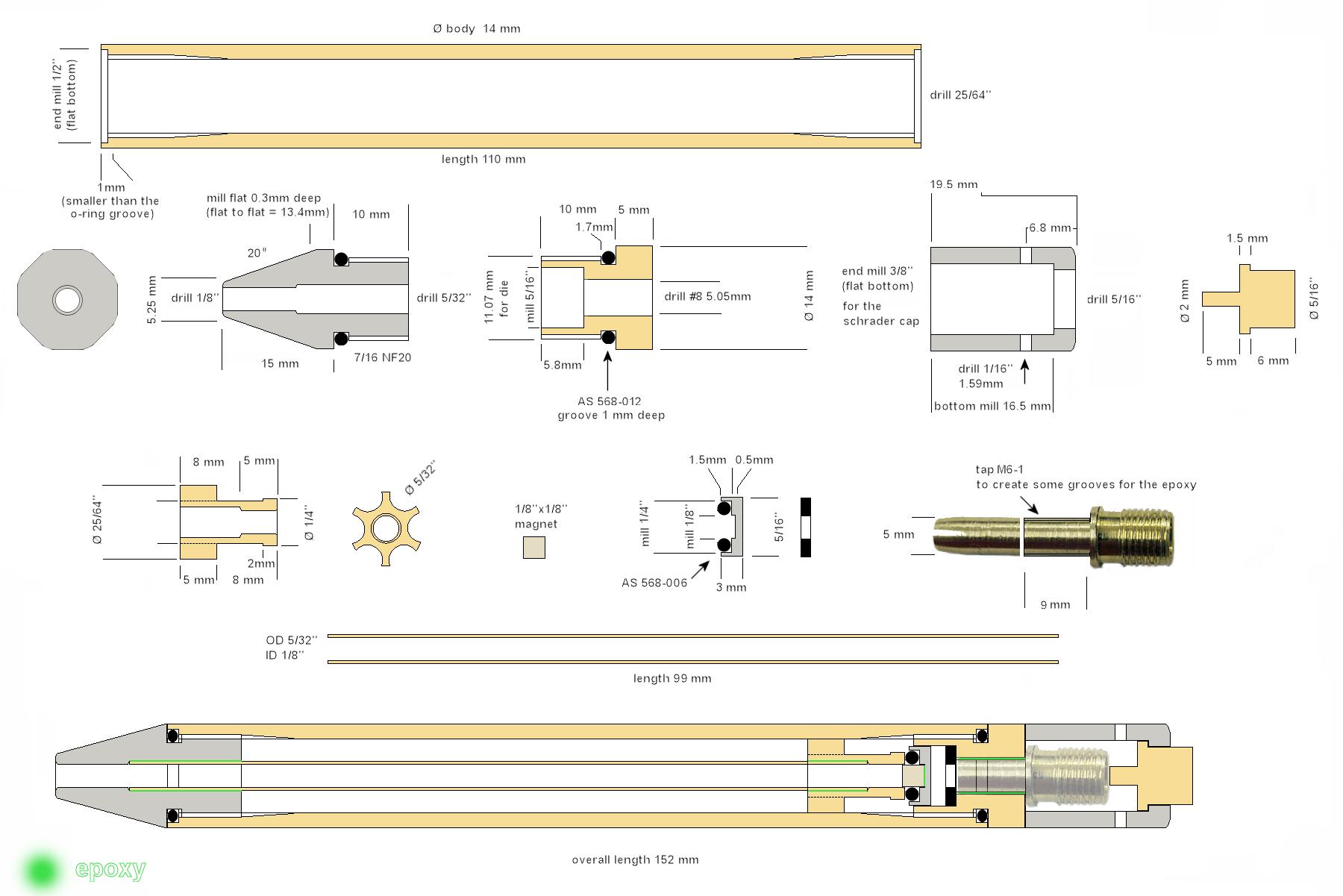 Pneumatic Potato Cannon Plans Gun Diagram