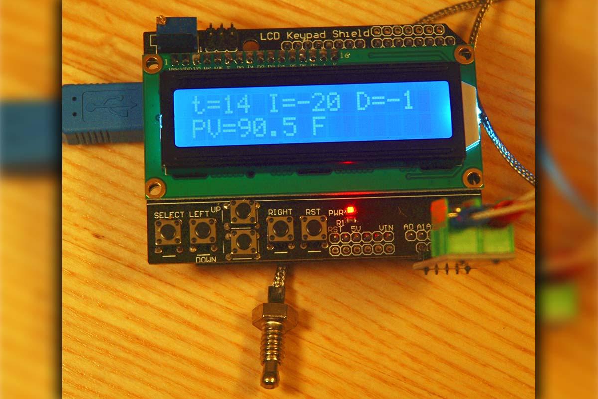 hight resolution of arduino pid temperature control