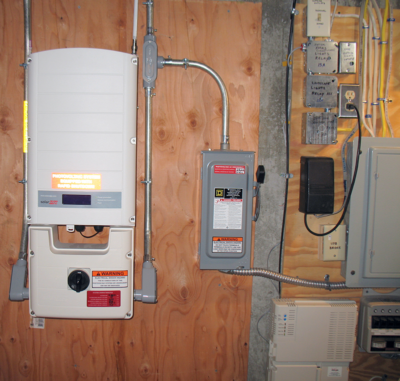 10000 Inverter Wiring Diagram A Solar Energy Story Design Installation And