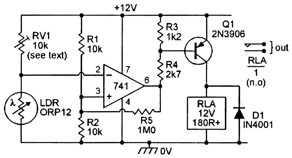 medium resolution of ldr project circuit diagram