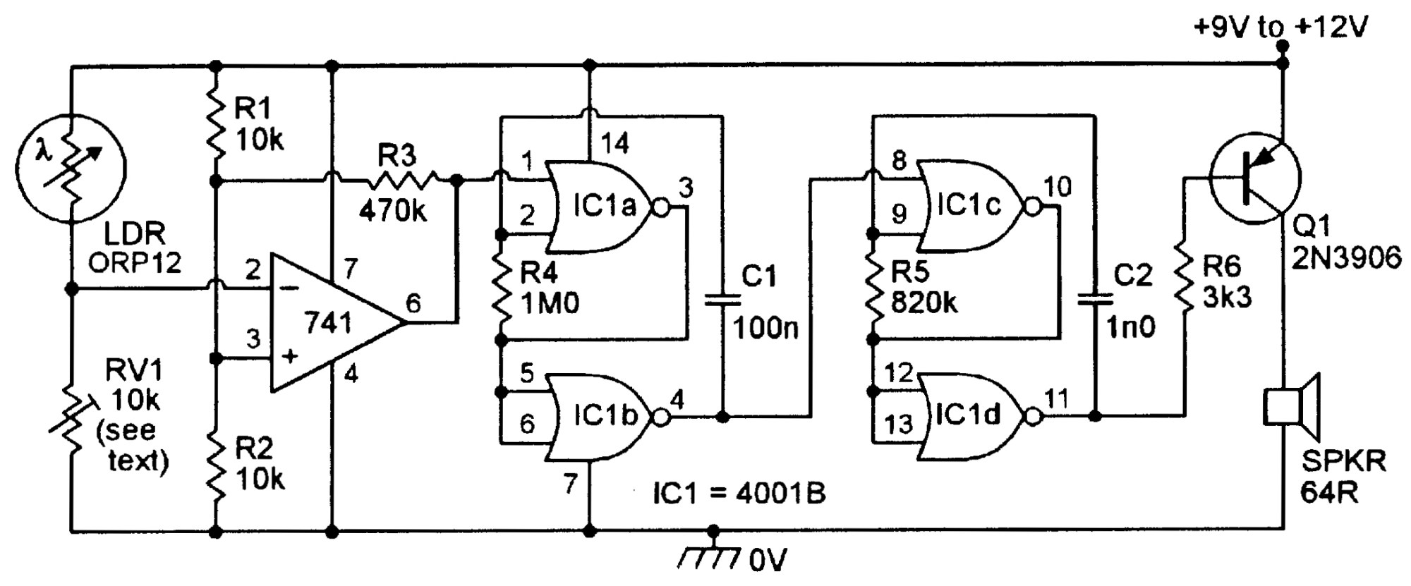 hight resolution of ldr project circuit diagram