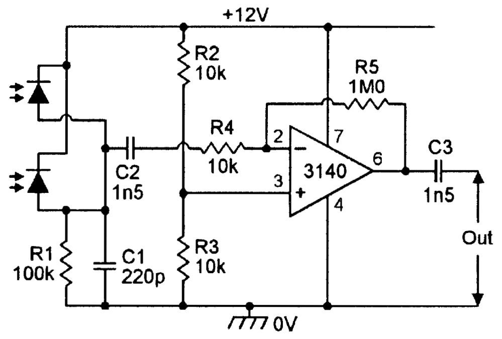 medium resolution of ir pre amp circuits