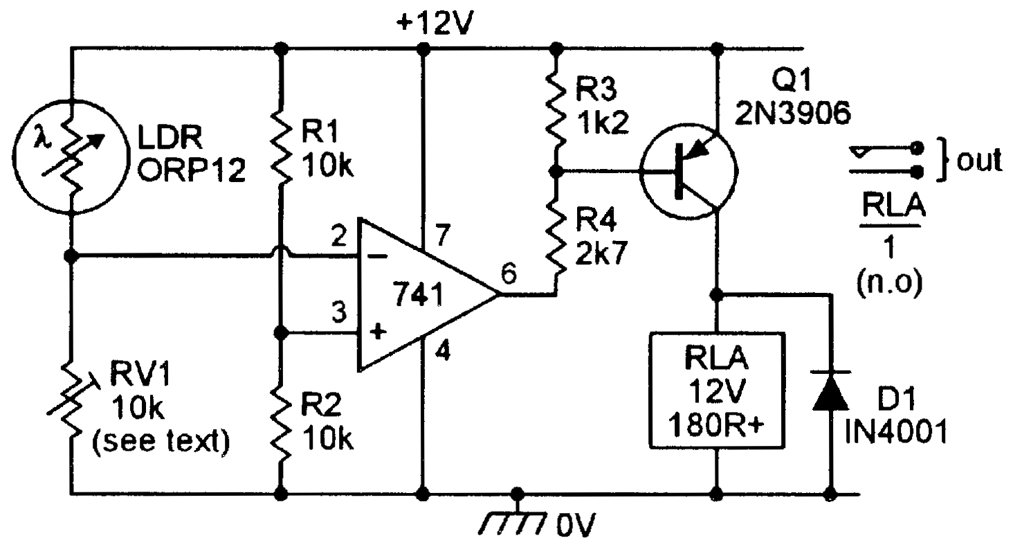 light sensitive switch circuit diagram ford 8n tractor wiring circuits nuts and volts magazine