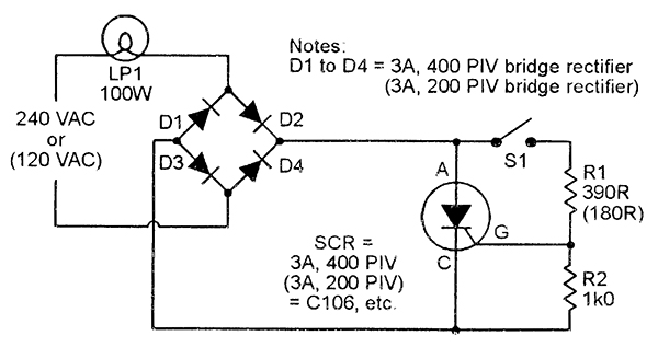 led wiring diagram 120v getting things done workflow scr principles and circuits | nuts & volts magazine