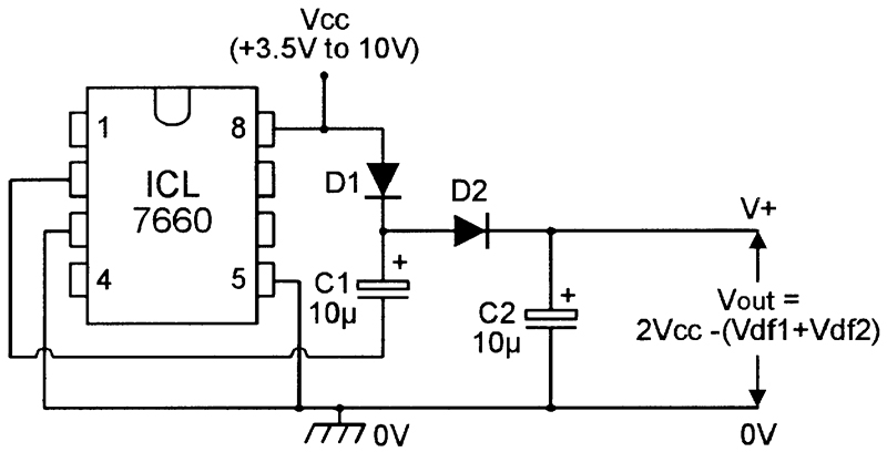 Cmos Negative Charge Pump