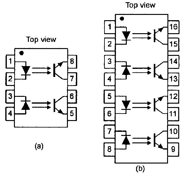 opto isolator circuit example